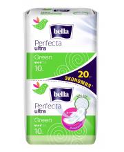 Прокладки женские гигиенические супертонкие Perfecta Ultra Green 20 шт