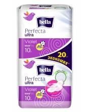 Прокладки женские гигиенические супертонкие Perfecta Ultra Violet Deo Fresh 20 шт