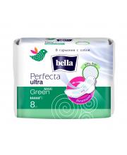 Прокладки женские гигиенические супертонкие Perfecta Ultra Maxi Green 8 шт