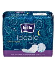 Прокладки женские гигиенические ультратонкие Ideale ideale ultra night 7 шт
