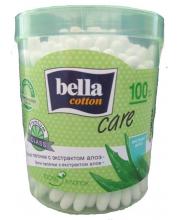 Ватные палочки Cotton care с экстрактом алоэ 100 шт