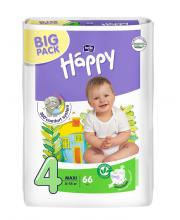 Подгузники Maxi 66 шт 8-18 кг Bella Happy