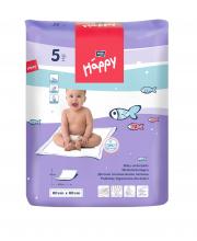 Одноразовые пелёнки для детей Baby Happy 60x60 см 5 шт