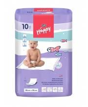 Одноразовые пелёнки для детей Baby Happy 60x90 см 10 шт