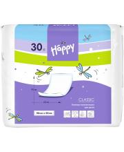 Одноразовые пелёнки для детей Baby Happy classic 90x60 30 шт Bella