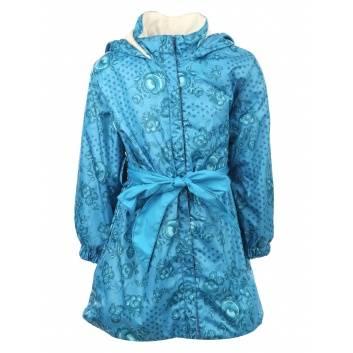 Девочки, Плащ Хохлома URSINDO (голубой)261389, фото