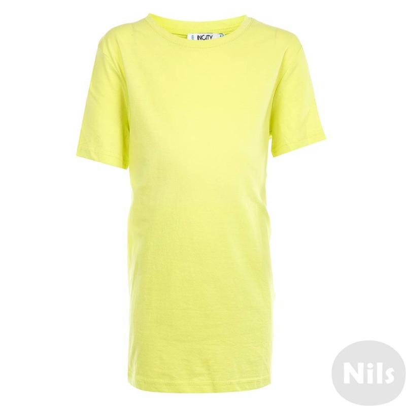 ФутболкаФутболка желтогоцвета марки INCITY длямальчиков.Однотонная базовая футболка с коротким рукавом выполнена из хлопкового трикотажа.<br><br>Размер: 8 лет<br>Цвет: Желтый<br>Рост: 128<br>Пол: Для мальчика<br>Артикул: 644915<br>Страна производитель: Китай<br>Сезон: Весна/Лето<br>Состав: 100% Хлопок<br>Бренд: Россия
