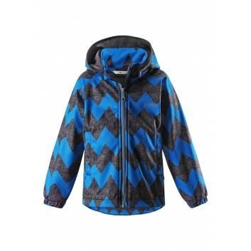 Мальчики, Куртка Softshell Зиг-заг LASSIE (синий)193586, фото