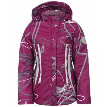 Верхняя одежда, Куртка Граффити Аврора (фиолетовый)182262, фото