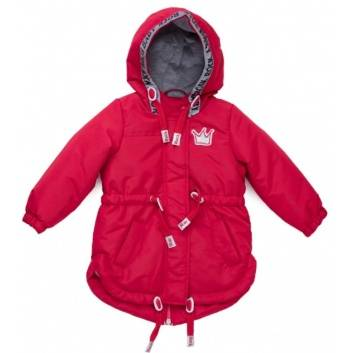 Девочки, Куртка PlayToday (красный), фото