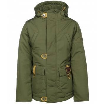 Мальчики, Куртка-парка Романтик Аврора (зеленый)182254, фото