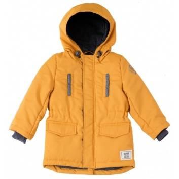 Мальчики, Куртка-парка демисезонная PlayToday (желтый)197475, фото