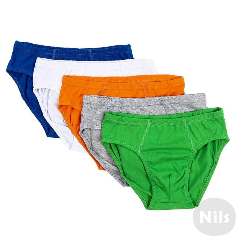 Комплект трусов, 5 шт.Комплект из пятитрусов марки INCITYдля мальчиков. Трусы выполнены из хлопкового трикотажа с добавлением эластана,в комплект входят трусы разных цветов: зеленого, белого, серого, синего и оранжевого.<br><br>Размер: 7 лет<br>Цвет: Зеленый<br>Рост: 122<br>Пол: Для мальчика<br>Артикул: 631211<br>Страна производитель: Китай<br>Сезон: Всесезонный<br>Состав: 95% Хлопок, 5% Эластан<br>Бренд: Россия