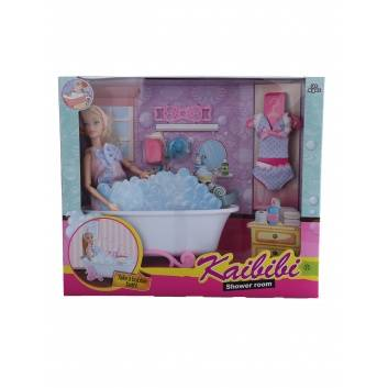 Игрушки, Кукла с ванной комнатой S+S Toys 245205, фото