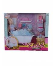 Кукла с ванной комнатой