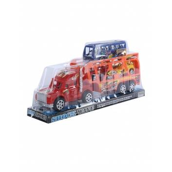 Ликвидация, Машина Автовоз с машинами инерционная S+S Toys 245015, фото