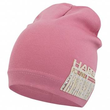 Девочки, Шапка Хэппи Conceptline (розовый), фото