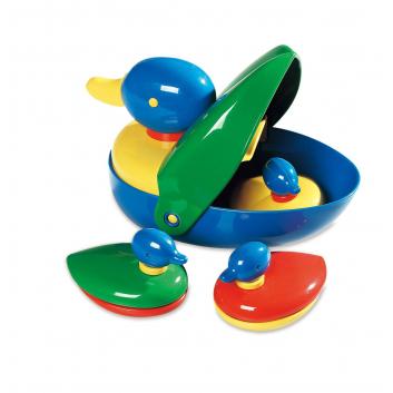 Игрушки, Игрушка для ванной Утиная семья Galt 269064, фото
