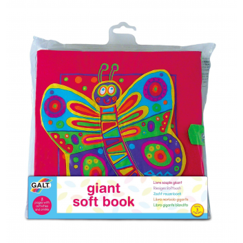 Игрушки, Развивающая игрушка Книжка Galt 269066, фото