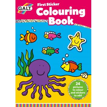 Книги и развитие, Раскраска со стикерами Galt 269076, фото
