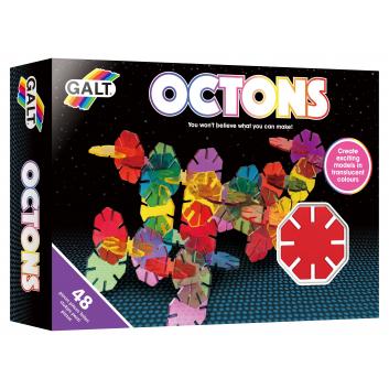 Игрушки, Конструктор Октоны Galt 269079, фото