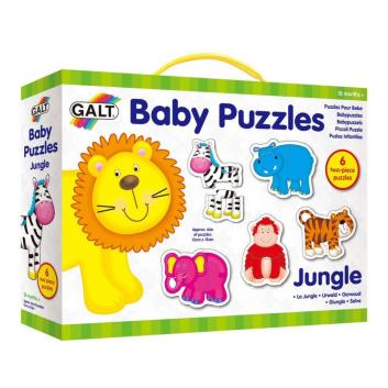 Игрушки, Пазл для малышей Джунгли Galt 269084, фото