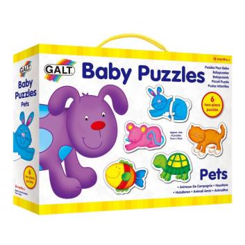 Игрушки, Пазл для малышей Питомцы Galt 269085, фото