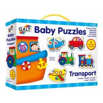 Игрушки, Пазл для малышей Транспорт Galt 269086, фото