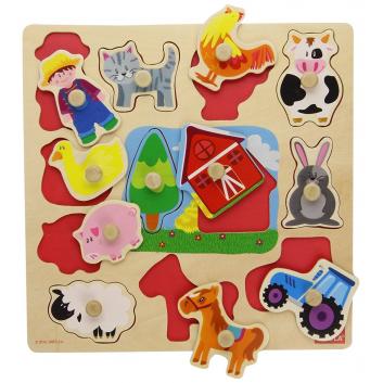 Игрушки, Рамка-вкладыш Ферма Goula 269097, фото