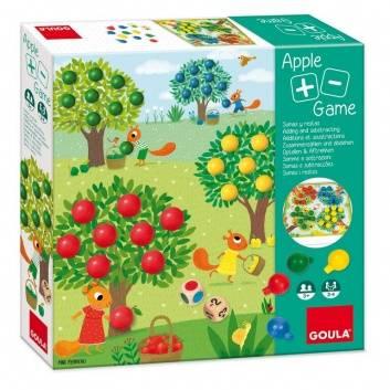 Игрушки, Развивающая игра Яблоки+ Goula 269117, фото