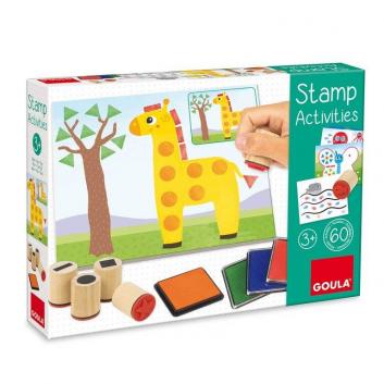 Игрушки, Игровой набор с печатями Goula 269116, фото