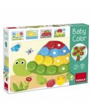 Деревянная мозаика Малыш учит цвета