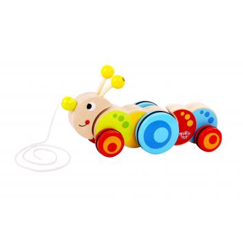 Игрушки, Каталка Гусеница Tooky Toy 269142, фото