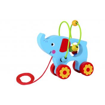 Игрушки, Каталка Слоник Tooky Toy 269141, фото