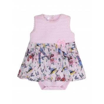 Малыши, Боди-платье  Мамуляндия (розовый)283250, фото