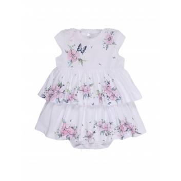 Малыши, Боди-платье  Мамуляндия (белый)283255, фото