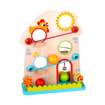 Игрушки, Трек с мячиками Ферма Tooky Toy 269157, фото