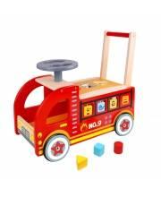 Ходунок-каталка Пожарная машина Tooky Toy
