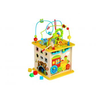 Игрушки, Многофункциональный игровой куб Лес Tooky Toy 269152, фото