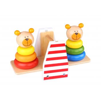 Игрушки, Игра баланс Медвежата Tooky Toy 269149, фото