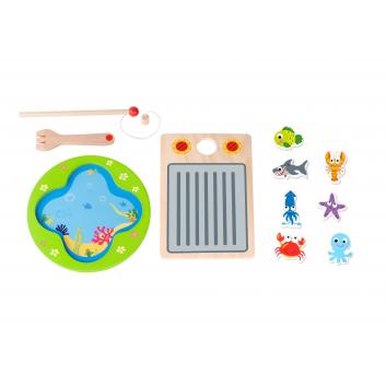 Игрушки, Игра Рыбалка и гриль Tooky Toy 269167, фото