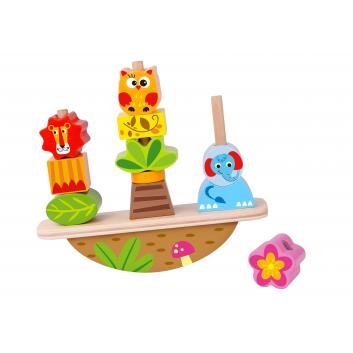 Игрушки, Развивающая игра -баланс Животные Tooky Toy 269168, фото