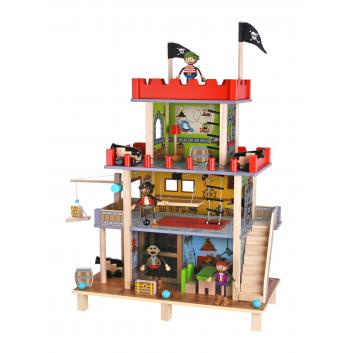 Игрушки, Набор Пиратский замок Tooky Toy 269239, фото