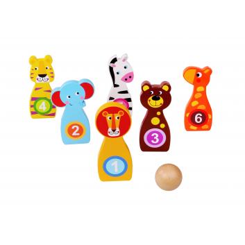 Игрушки, Детская игра Боулинг Tooky Toy 269221, фото
