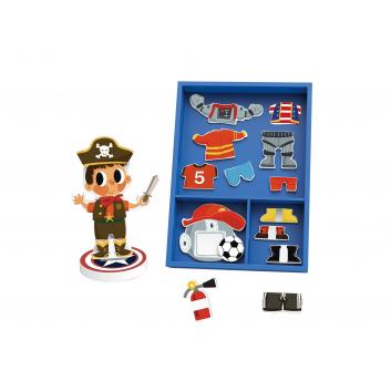Игрушки, Игра Одень мальчика Tooky Toy 269218, фото