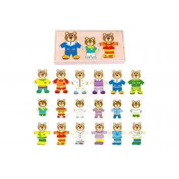 Игрушки, Игровой набор Собери мишку Tooky Toy 269217, фото