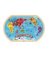 Пазл Карта мира