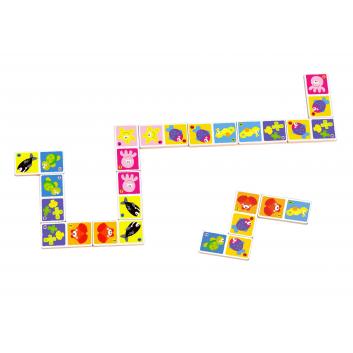 Игрушки, Настольная игра Домино Tooky Toy 269232, фото