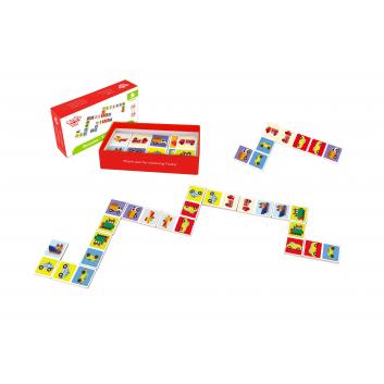 Игрушки, Настольная игра домино Транспорт Tooky Toy 269233, фото
