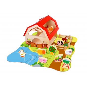 Игрушки, Набор Ферма Tooky Toy 269191, фото